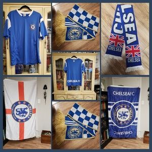 Chelsea Premiere Leage Soccer Fan Bundle